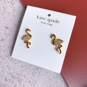 Kate Spade By the Pool Famingo Earrings
